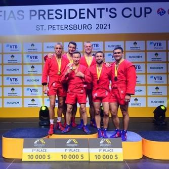 Победа на Кубке Президента ФИАС по самбо!