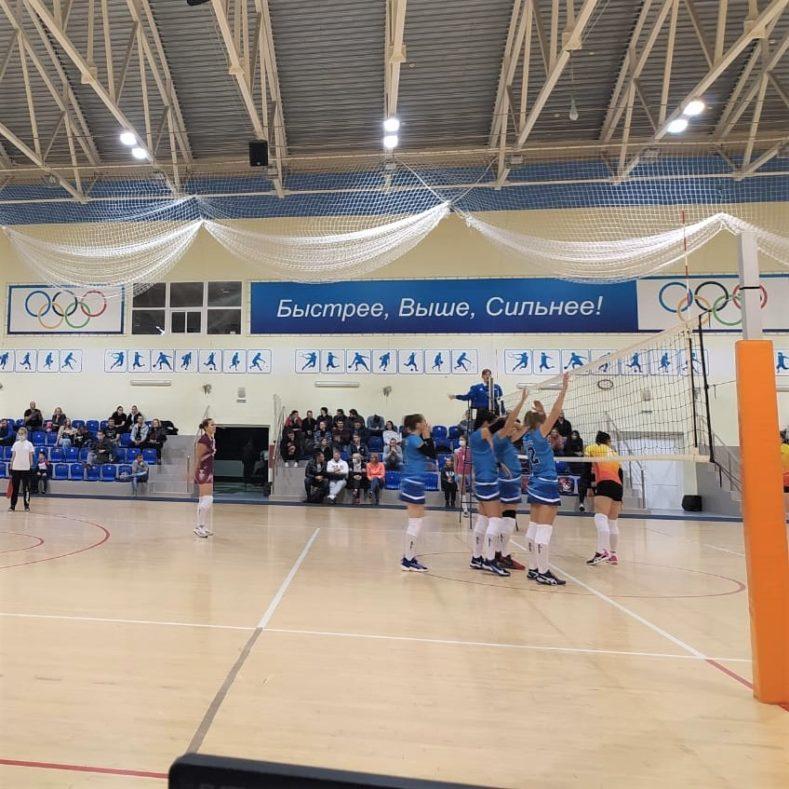Итоги 1 тура Чемпионата России по волейболу среди женских команд Высшей лиги «Б»