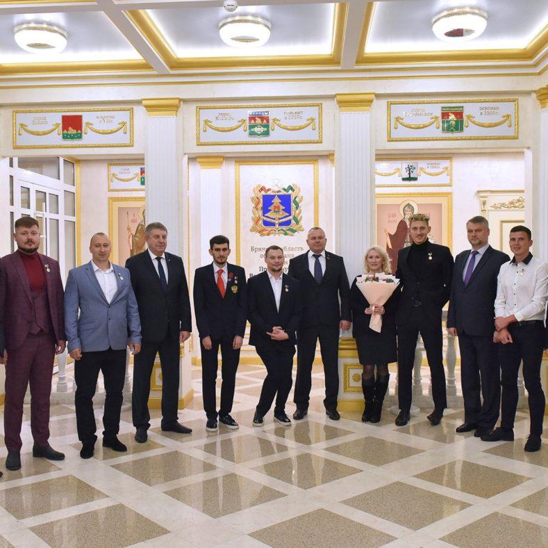 Встреча Губернатора с участниками XXXII летних Олимпийских и XVI Паралимпийских игр