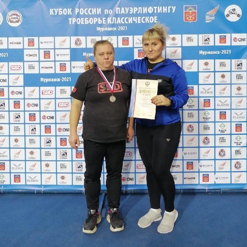 Серебро на Кубке России по пауэрлифтингу!